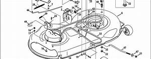 Craftsman 42 Inch Mower Deck Parts Diagram