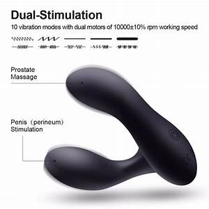 Hot Luvkis Wireless Control Prostate Massager Male Anal