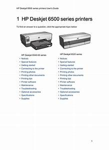 Hp 6500 Series User S Guide