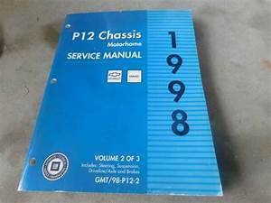 1998 Chevrolet Gmc P12 Chassis Motorhome Shop Service