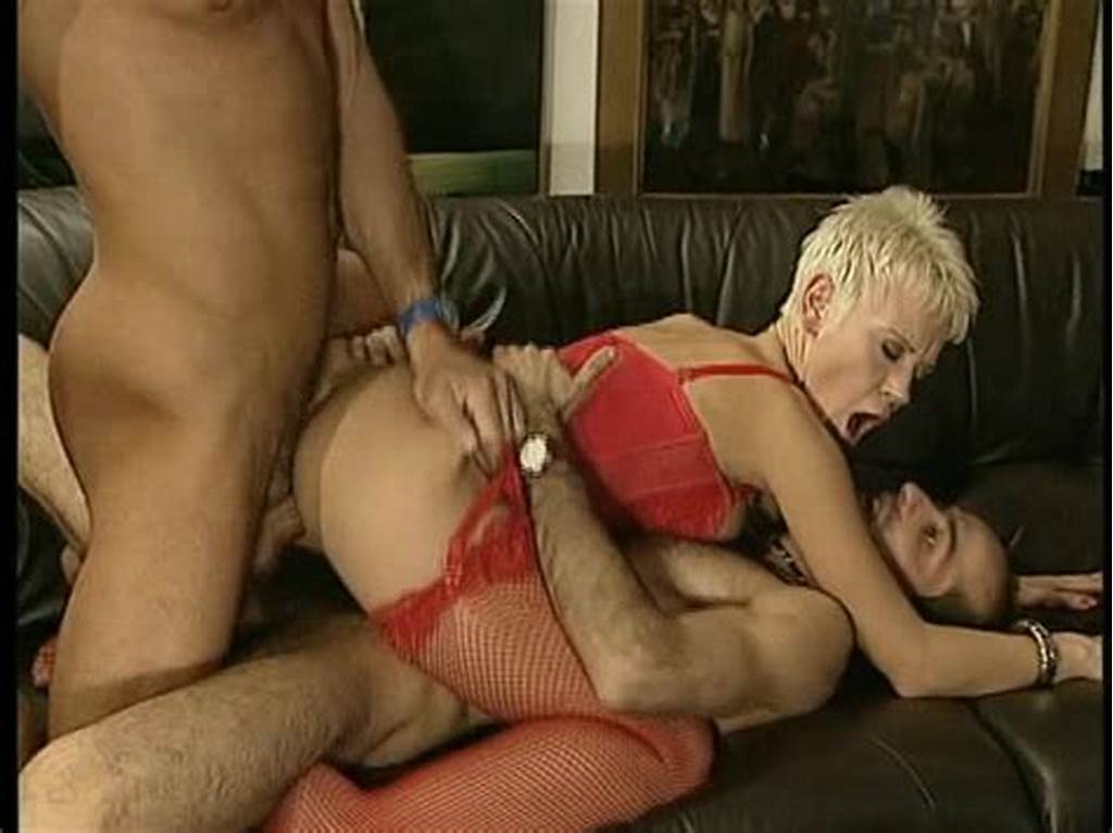 #Short #Haired #Blonde #Hottie #Bounces #On #One #Cock #While
