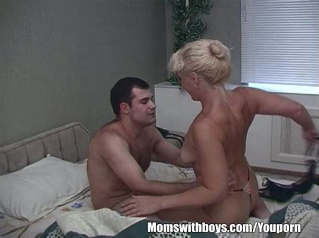#Horny #Blonde #Stepmom #Taking #Stepson'S #Cock #For #Breakfast
