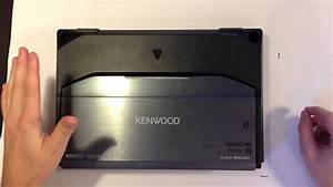 Kenwood Sub Amp Review And Install Instructions  Kac 9104d