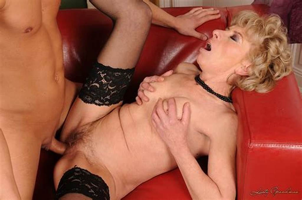 #Slutty #Granny #Margarette #In #Black #Stockings #Gets #Fucked