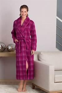la robe de chambre laine et acrylique robe de chambre With robe de chambre chaude femme