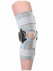 Stabilizing Knee Brace With Regulation Of Flexion Movement