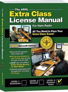 New Arrl Extra Class License Manual Available As Softcover
