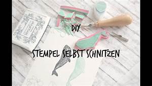 Stempel Selbst Herstellen : diy stempel selber machen german deutsch youtube ~ Watch28wear.com Haus und Dekorationen