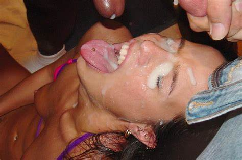 Roleplay Spunk In Mouthful Set Face Stuffed Big Load