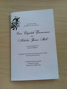 catholic wedding mass booklet template 2013 templates With mass booklet templates