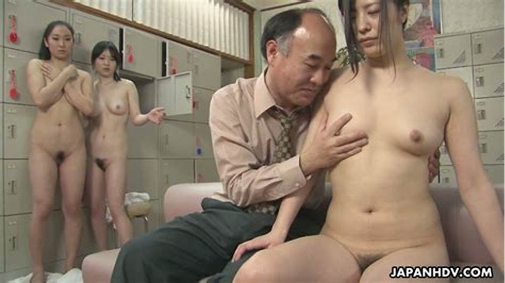 #Filthy #Old #Man #Fucks #A #Bunch #Of #Japanese #Girls #In #A #Public