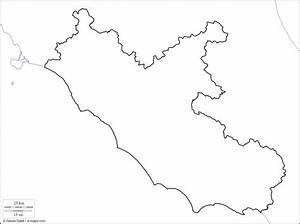 Cartina Muta Fisica E Politica Del Lazio Da Stampare Scuola