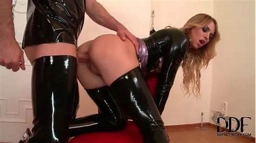 Interracial Porn With Body Heavy In Latex #Slut #In #Tight #Latex #Fucked #In #The #Butt