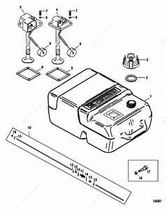 Mercury  Mariner 50mh  Fuel Tank Plastic