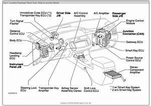 8a5585 2006 Toyota Avalon Fuse Box