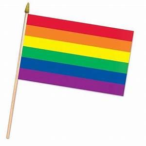 Shopping Checklist 11 Quot X 18 Quot Rayon Rainbow Flag Pride Diversity