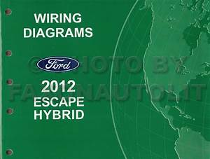 2012 Ford Escape Hybrid Owner U0026 39 S Manual Original
