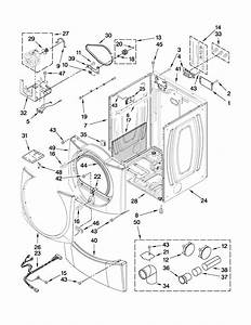 Maytag 29 U0026quot  Electric Dryer Parts