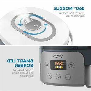 Vava Top Fill Ultrasonic Humidifier  Cool Mist Humidifiers