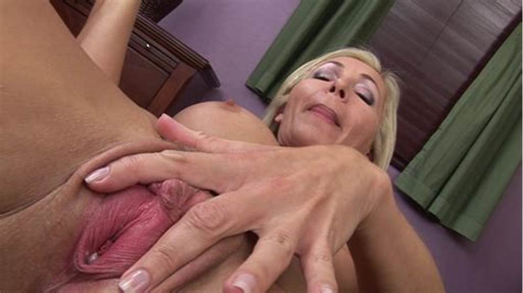#Golden #Milf'S #Cunt #Is #About #To #Crack