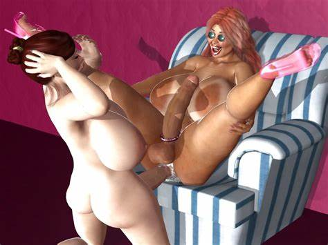 Home Shemale Three 3d tranny porn images