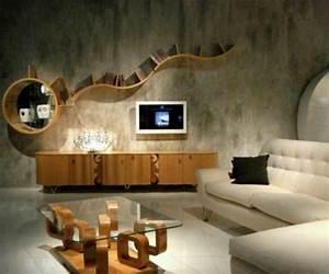 Deko Holz Wand : 110 luxus wohnzimmer im einklang der mode ~ Eleganceandgraceweddings.com Haus und Dekorationen