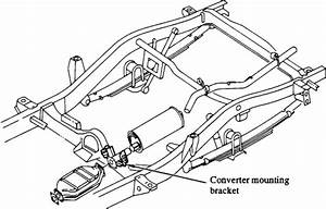 I Need The Exhaust System Diagram For A 1988 Isuzu Trooper