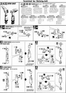 Mg Gx-9900 Gundam X English Manual  U0026 Color Guide