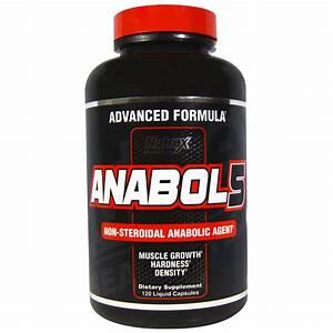 Nutrex Research Anabol 5 120 Liquid Capsules 853237000295