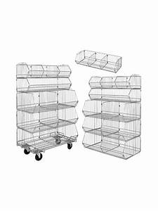 Wire Basket Rack At Nationwide Industrial Supply  Llc