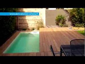 terrasse mobile pour piscine movingfloor octavia With prix d une piscine couverte