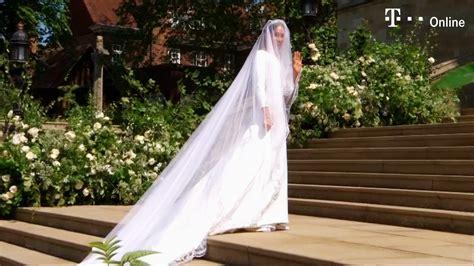 Mai zum altar führen wird, gab der kensington palast bereits bekannt. Meghan Markle bezaubert in ihrem Brautkleid