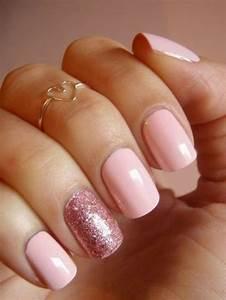 Deco Rose Pale : 41 id es en photos pour vos ongles d cor s comment choisir la d coration ongle pinterest ~ Teatrodelosmanantiales.com Idées de Décoration