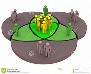 Community Venn Diagram Stock Illustration  Illustration Of