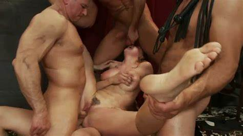 Gangbang Porn With Clit And Double Penetration