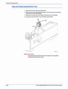 Xerox Phaser 6300 6350 6360 Parts List And Service Manual