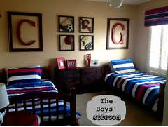 Sports Themed Bedroom Accessories Marci Coombs The Boys 39 Sports Themed Bedroom