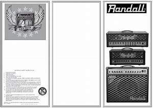 Randall Rt100h Amplifier Operation Manual Pdf View  Download