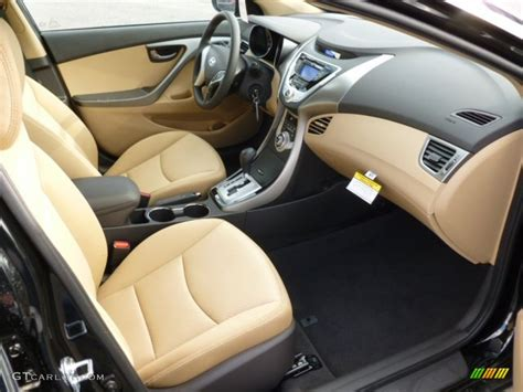 The 2018 hyundai elantra lineup grows with the addition of the sporty euro gt hatchback, adding more fun and practicality to the lineup. Beige Interior 2012 Hyundai Elantra GLS Photo #61178329 ...