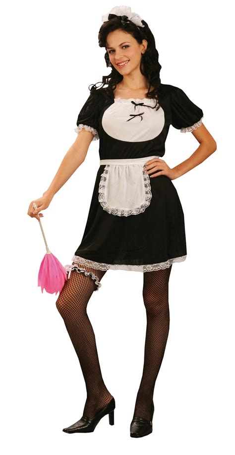 recherche femme de chambre uniforme de soubrette déguisement femme de chambre