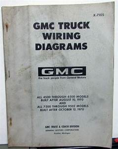 1971 Gmc Dealer Electrical Wiring Diagram Manual Truck