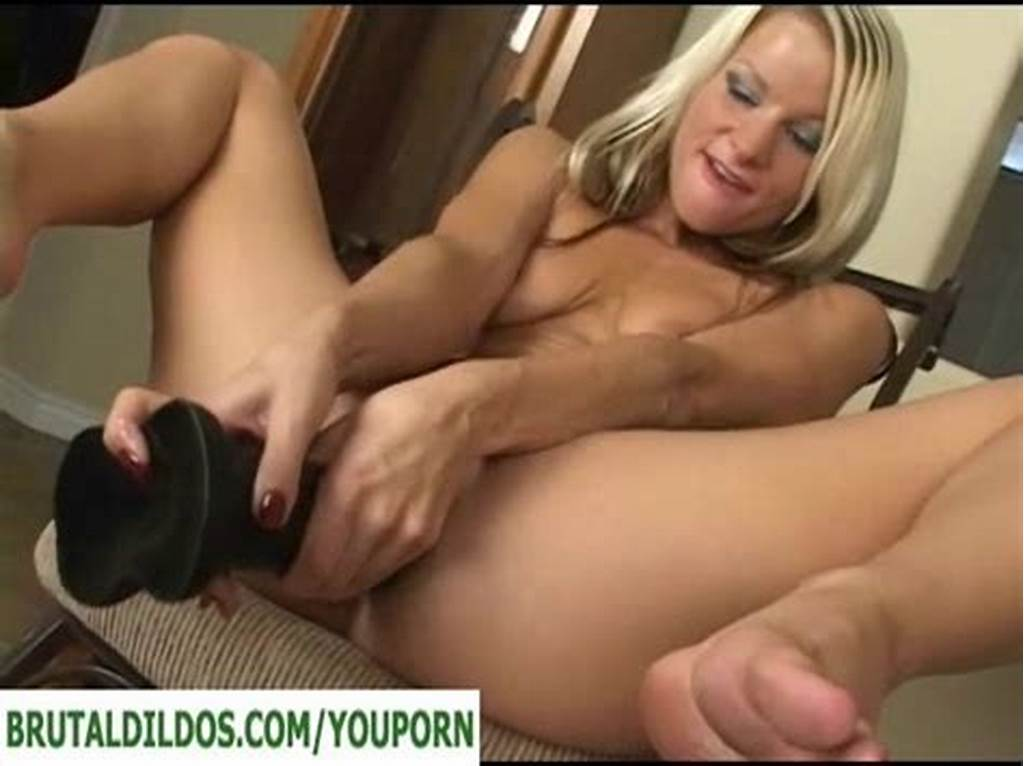 #Small #Blonde #With #Big #Anal #Dildo