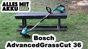 Akku Rasentrimmer Test : bosch advancedgrasscut 36 rasentrimmer test alles mit ~ Watch28wear.com Haus und Dekorationen