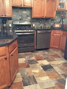 slate for kitchen countertops home designs With kitchen cabinets lowes with cricket sticker maker