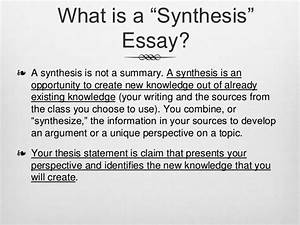 Thesis Antithesis Synthesis Definition