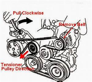 2004 Pontiac Vibe Serpentine Belt Diagram