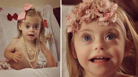 Toddler With Down Syndrome Wins TWO Modeling Contract ...