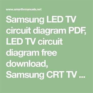 Samsung Led Tv Circuit Diagram Pdf  Led Tv Circuit Diagram