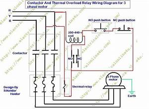 Contactor 2bwiring 2bdiagram In Contactor And Overload