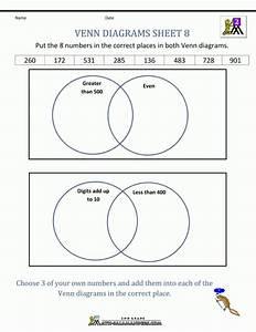 9  Venn Diagram Worksheet Kindergarten -